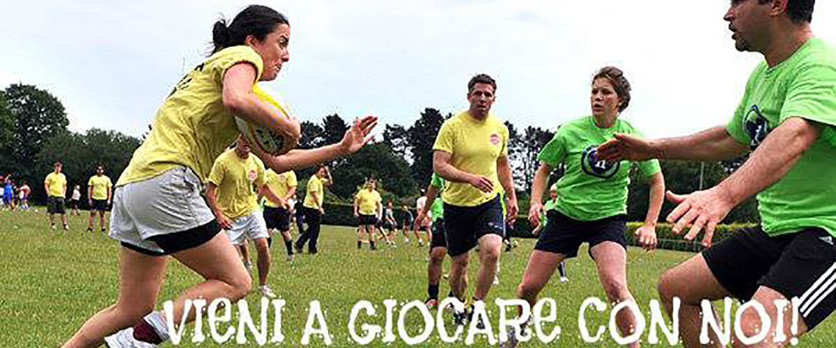TOUCH RUGBY A PONTE MARCONI - Domenica dalle ore 10:00